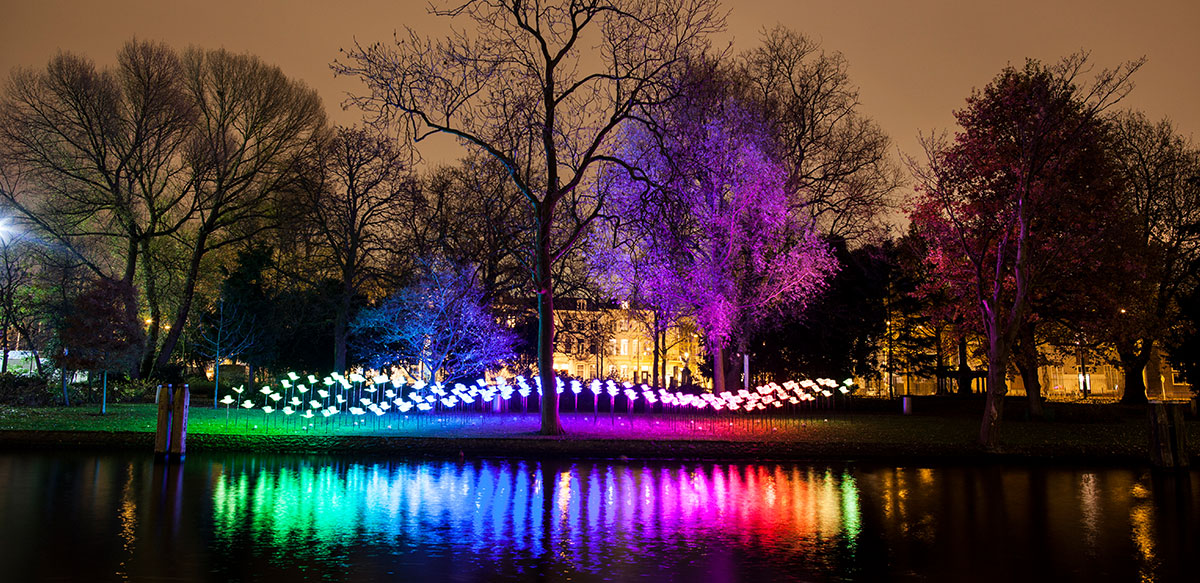 Book tickets for the Amsterdam light festival