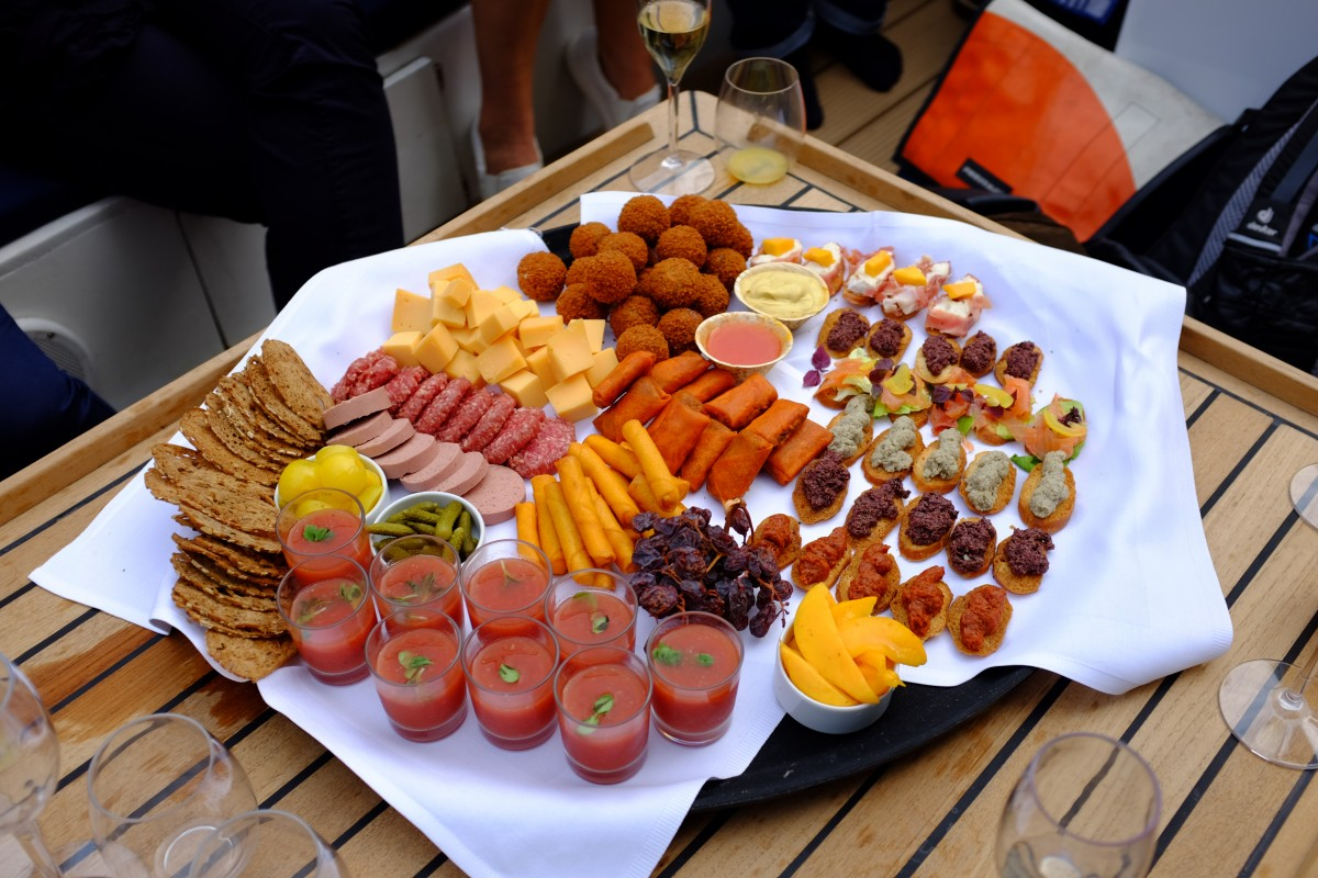 Catering on board - Amsterdam Boat Tour