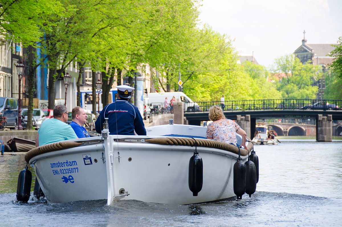 Open canal cruise